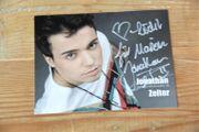 Original Jonathan Zelter Autogramm Autogrammkarte