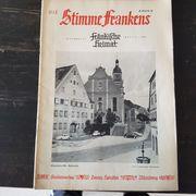alte fränkische Hefte