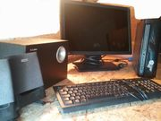 Hp Desktop PC mit Zubehör