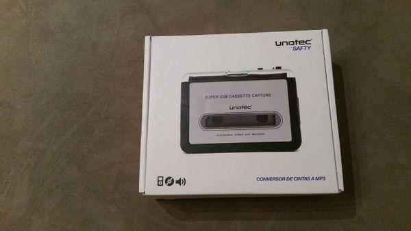 Kassetten-Umwandler in mp3 Unotec SAFTY