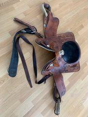 Pferde Westernsattel in sehr gutem