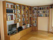 Schrankwand Bücherregal