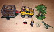 Playmobil Dinos Amphibienfahrzeug mit Deinonychus
