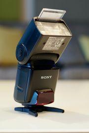 Sony HVL-F42AM Blitz mit Tasche