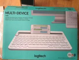 Eingabegeräte (Mäuse, Tastaturen etc.) - Logitech Tastatur Multi Device K480