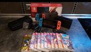Nintendo switch mit 11 Spiele