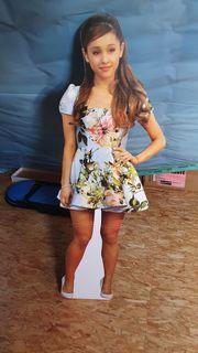 Ariana Grande Pappaufsteller lebensgroß