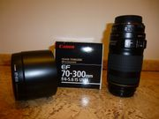 CANON 70-300mm f4-5 6 IS