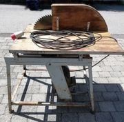 Brennholzfräse Tischkreissäge