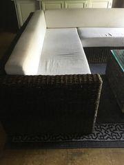 Rattan Sofa zu verkaufen
