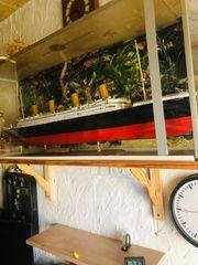Original getreue nachgebaute Modell Titanic