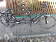 E Tandem Fahrrad Multicycle double