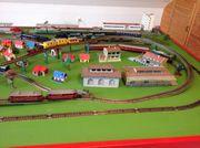 Trick Eisenbahnanlage HO mit 8