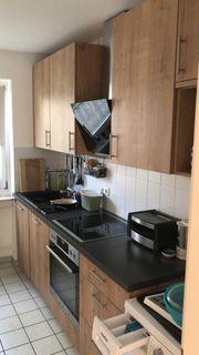 Küchenzeile 6 Monate alt Eichenfront