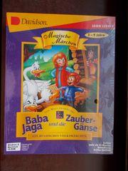 Baba Jaga und die Zaubergänse