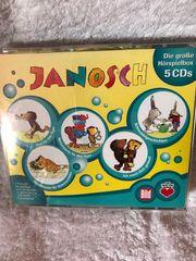 Janosch Hörspiel CD s 5Stck