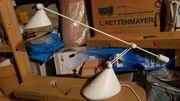 NEUWERTIG Halogen Schreibtischleuchte EL-962R weiß
