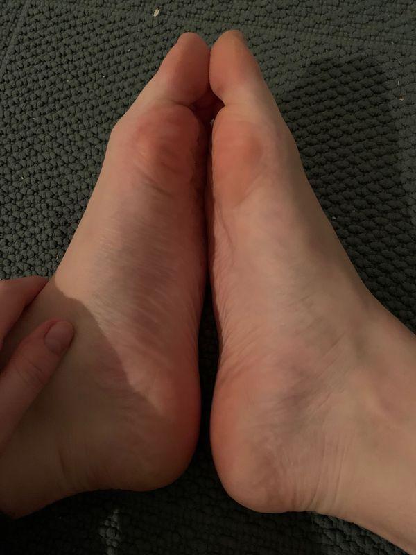 Meine Füße für dich