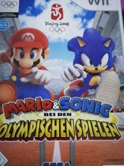 Mario and sonic Olympische Spiele