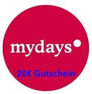 mydays 20EUR Gutschein