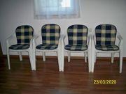 Verkaufe 4 Garten Stühle mit