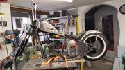 Harley Davidson Starrahmen Shovel Projekt