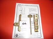 MACO-Drehsperre mit Schlüssel für 4-11mm