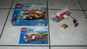 vollständig Lego City 60002 Feuerwehrfahrzeug