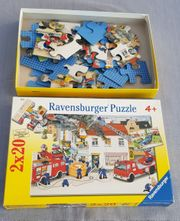 2 Puzzle Feuerwehr 2 x