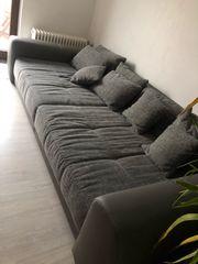 Couch Grau Big Sofa