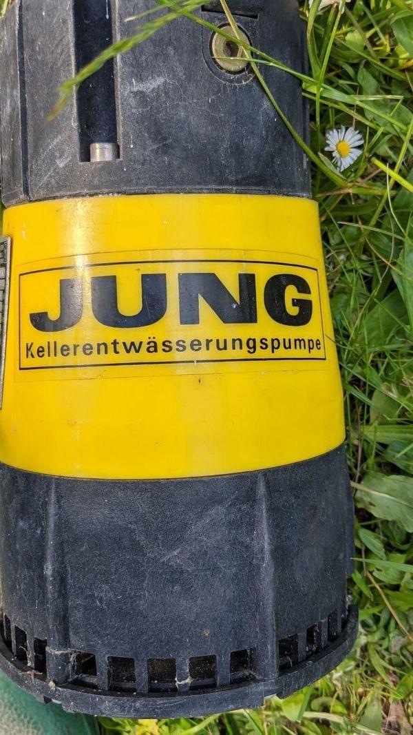 Jung Kellerentwässerung Pumpe