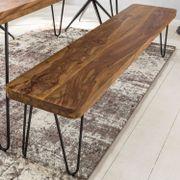Myhomelando Esszimmer BAGLI Sitzbank Massiv-Holz