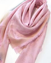Louis Vuitton Schal in Rosa