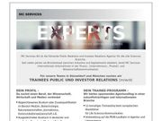 Trainees Public und Investor Relations