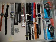 Uhren Armbänder Konvolut verschiedener Hersteller
