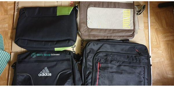 4 Laptop Taschen Gut erhalten