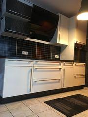 Einbauküche Nobilia mit E-Geräten Ultra-Hochglanz