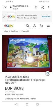 Playmobil Tierklinik komplett - Neupreis 89