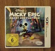 Disney MICKY EPIC Nintendo 3DS-Spiel