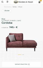 Sofa Diwan Cordoba Henders Hazel