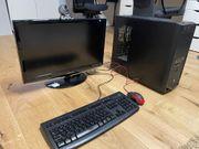 PC Computer für Homeoffice mit