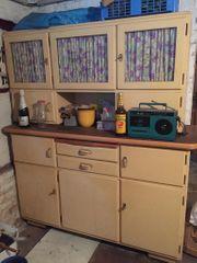 DDR Küchenschrank Küchenbuffet Set mit
