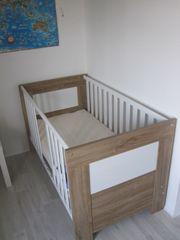Kinderbett Babybett inkl Matratze