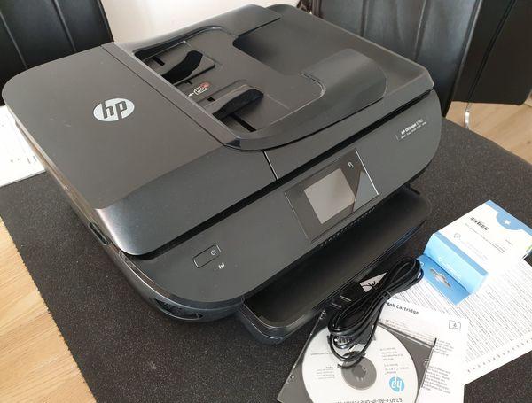 Drucker HP Officejet 5740 mit Zugabe