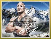 DWAYNE JOHNSON Original Foto signiert