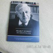 Helmut Schmidt 100 Jahre 2018