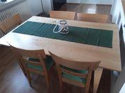 Esszimmertisch mit 6x Stühlen Qualitätsmöbel