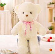 Leuchtende Teddybären neu 50cm hoch
