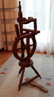 Spinnrad für Dekoration