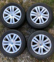 4 Alufelgen mit Reifen für